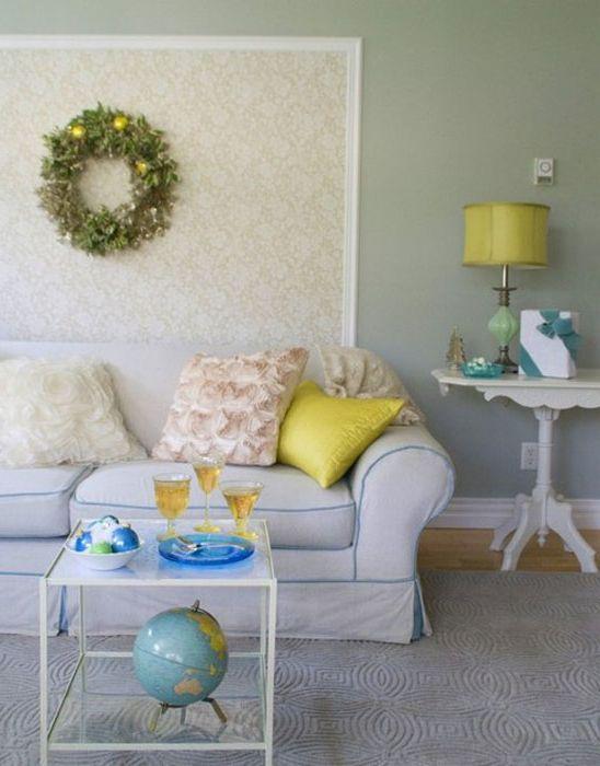 Wnętrze salonu od Restyled Home