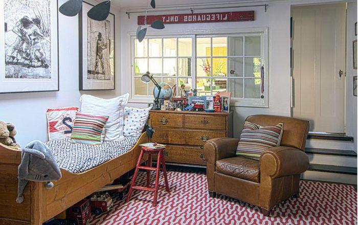 Wnętrze sypialni dla dzieci