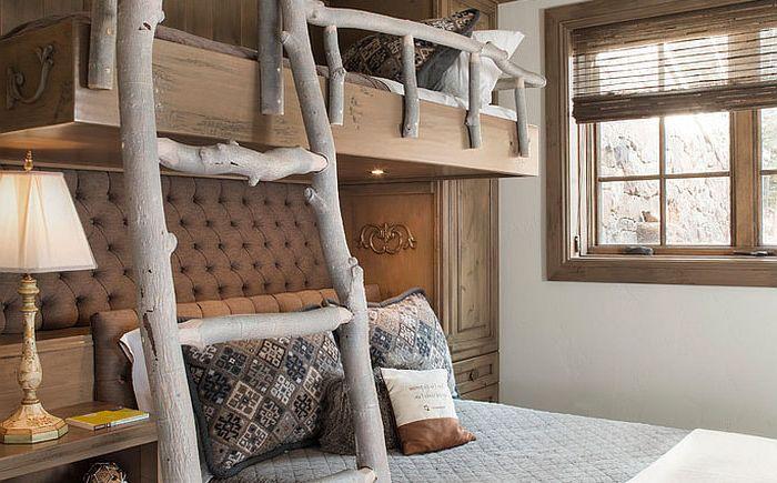 Оригинални стълби и парапети в детската спалня