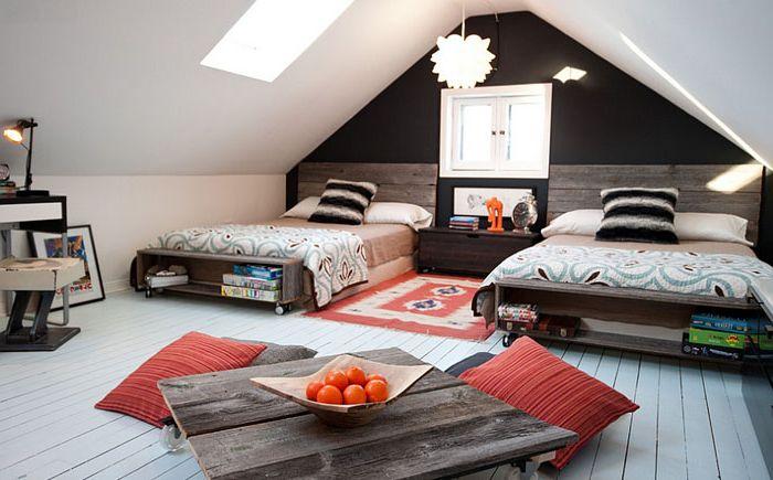 Спалня на тавана