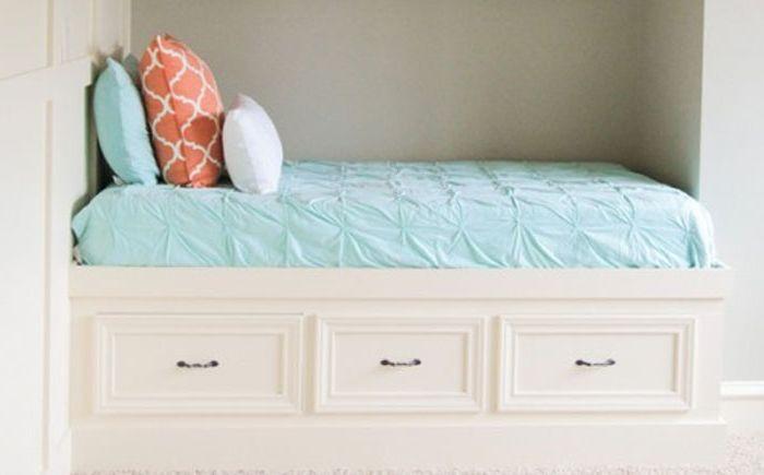 Леглото може да бъде оборудвано във всяка ниша