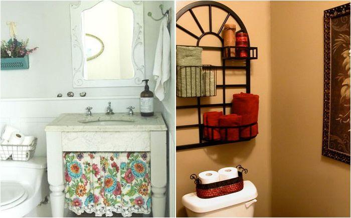 Тоалетна хартия в кошници