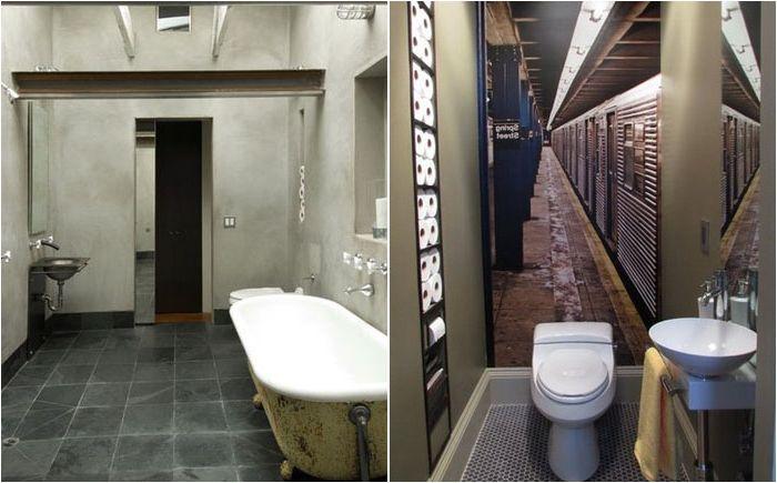 Wbudowane półki do przechowywania papieru toaletowego