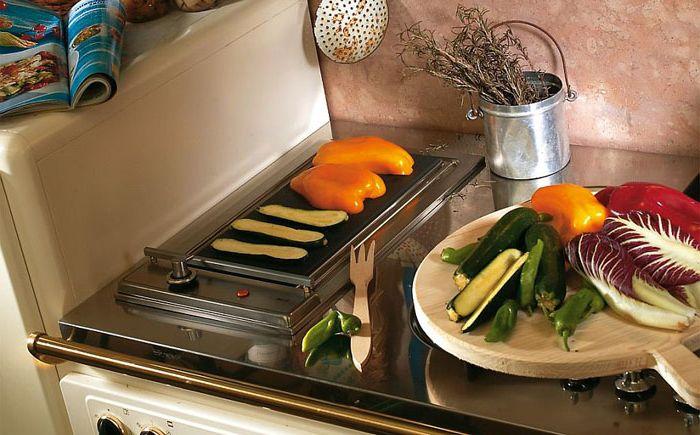 Stove in Doria's kitchen