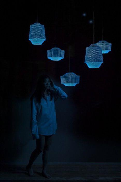 Необичаен дизайн на нощни лампи от холандско студио.