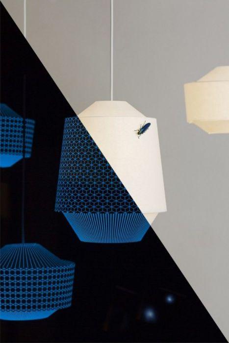 Необичайна лампа-нощна светлина от дизайнерското студио Ontwerpduo.