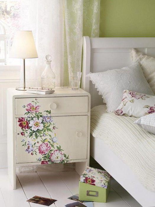 Декупаж мебели декор