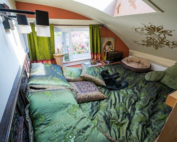 Camper. Легло.