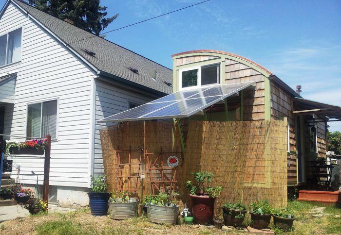 Екологичен мобилен дом.