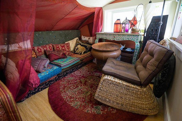 Мини-хол в марокански стил.