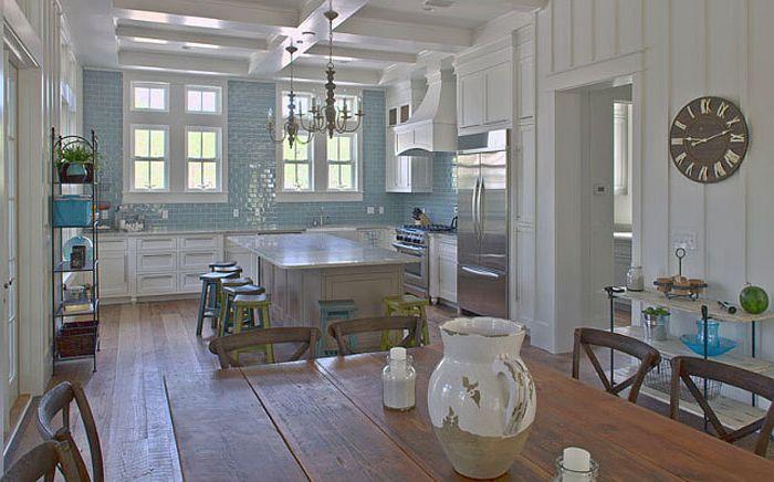 estilo costero ligero: 10 ideas originales para el interior de la cocina'intérieur de la cuisine