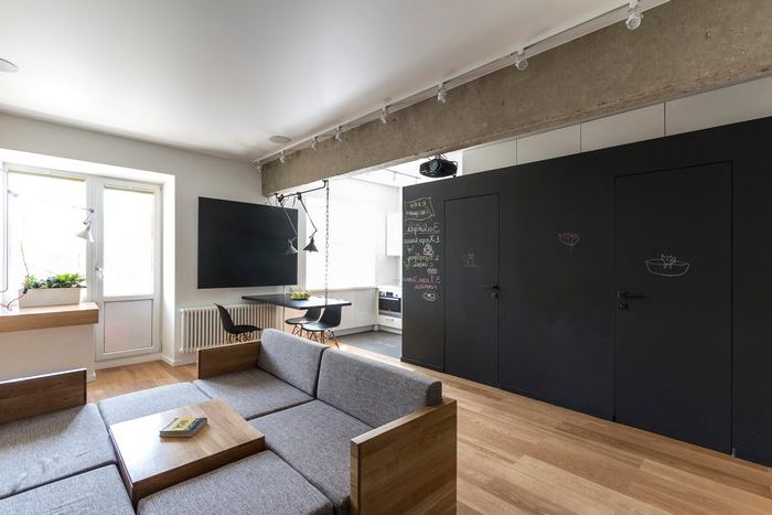 Mieszkanie w Moskwie 80 metrów kwadratowych