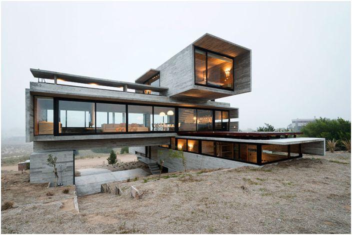 Projekt architekta Luciano Kruka.