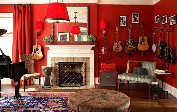 Music Lounge by Dillard Pierce Design Associates