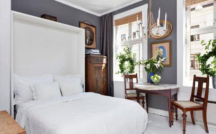 Спалня с разтегателно легло