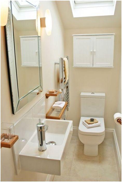 10. За малка баня си струва да изберете компактен водопровод