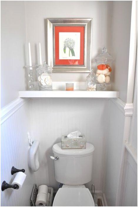 15. Декор на малка баня