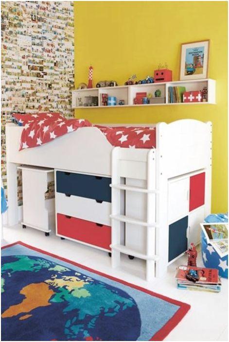 11. Легло с таванско помещение - добро решение за малка детска стая