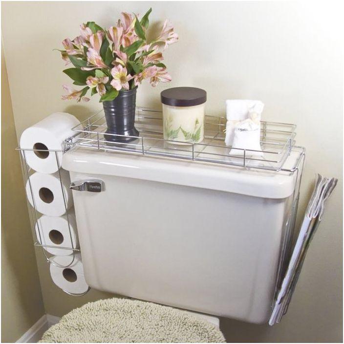 18. Компактно съхранение в банята