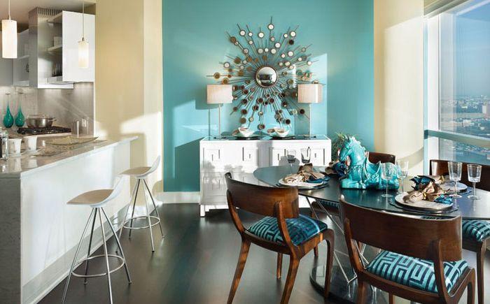 Интерьер столовой от Gacek Design Group, Inc.