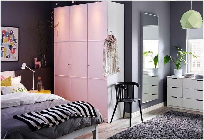 PAX гардероб в спалнята