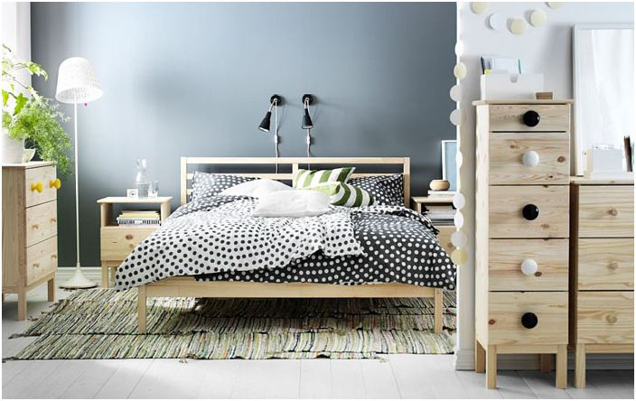 Колекция мебели за спалня TARVA