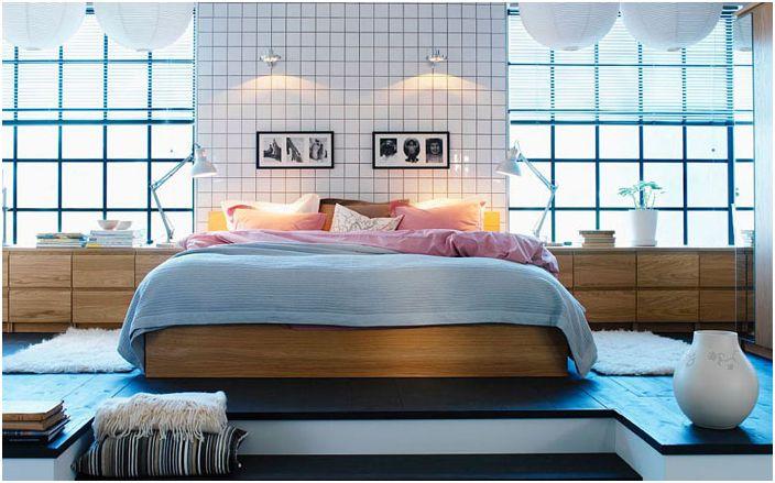 Стилна и уютна спалня