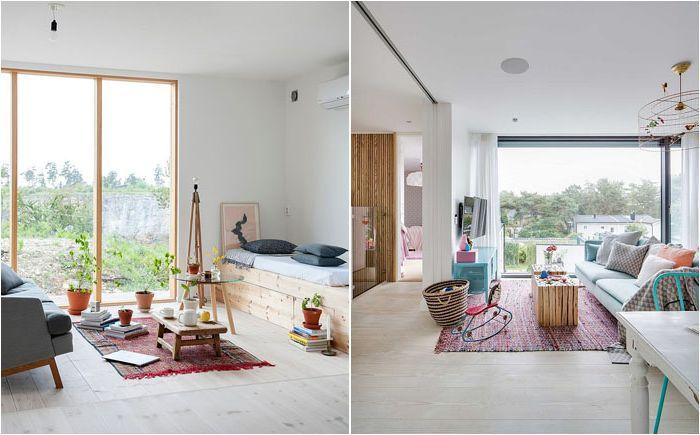 пастелните цветове идват по-добре в интериора на хола