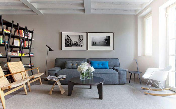 Интериор на хола от студио Davide Cerini