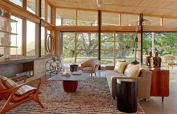 Интериор на хола от Jeffers Design Group