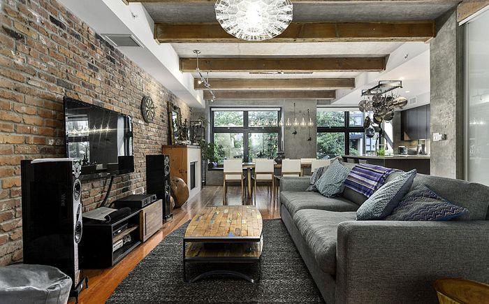 Модернизмът и еклектиката на невероятно таванско помещение във Ванкувър