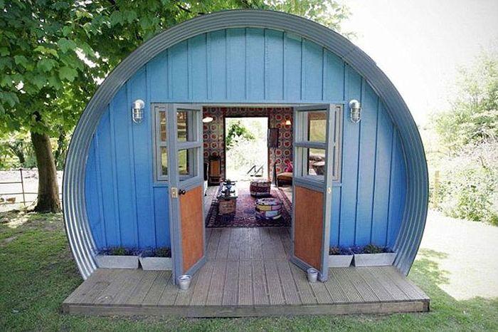 Szopa to dom przerobiony z garażu.