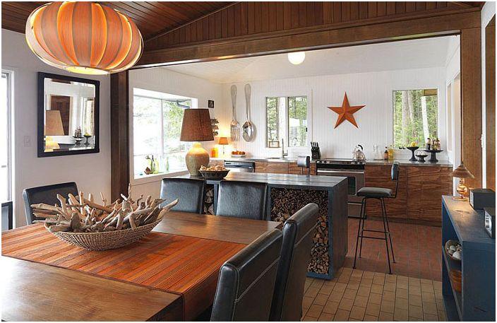 Интерьер кухни от Johnson + McLeod Design Consultants