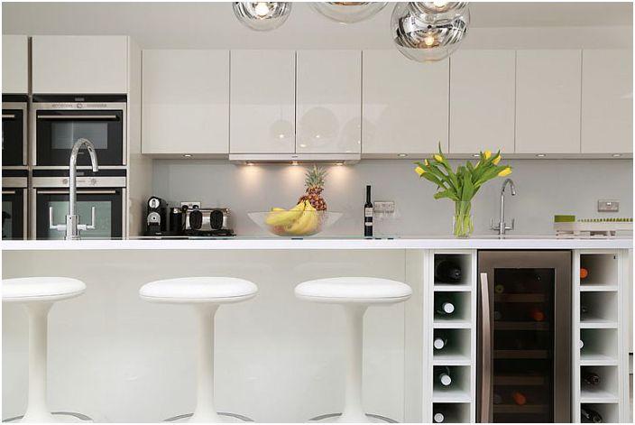 Интерьер кухни от LWK Kitchens London