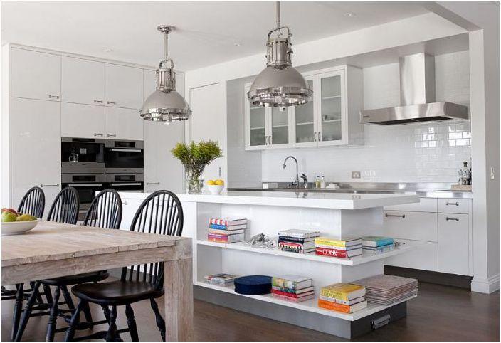Интерьер кухни от Diane Bergeron Interiors