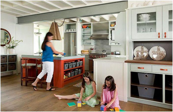 Интерьер кухни от S+H Construction