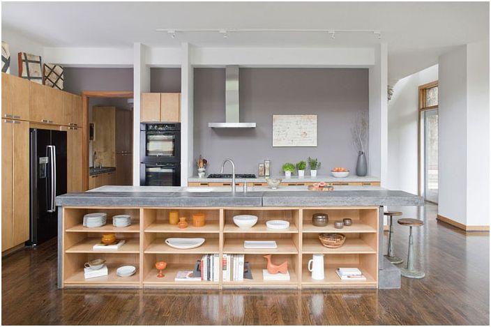 Kjøkkeninnredning av j witzel interiørdesign