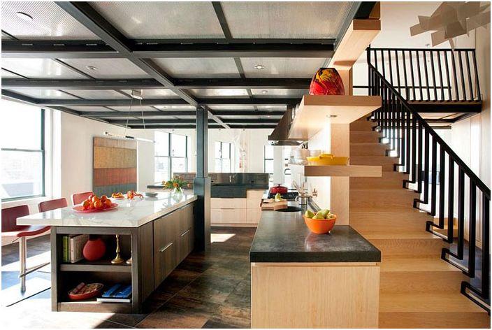 Kjøkkeninnredning av Eck MacNeely Architects