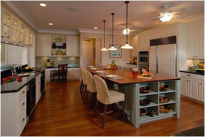 Интерьер кухни от Archipelago Hawaii Luxury Home Designs