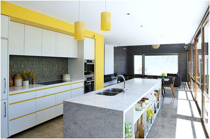 Kjøkkeninnredning av Klopper og Davis Architects
