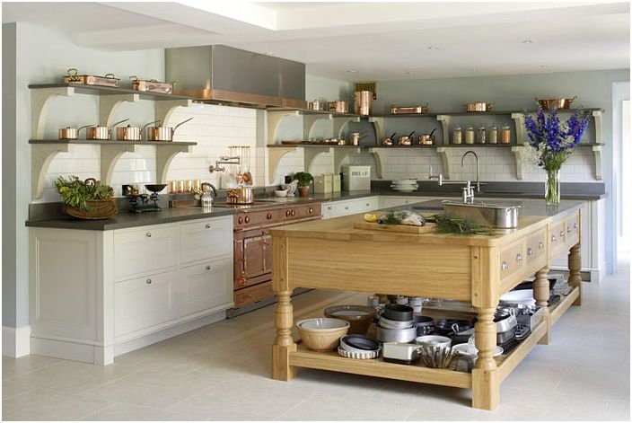 Klassisk kjøkkeninnredning