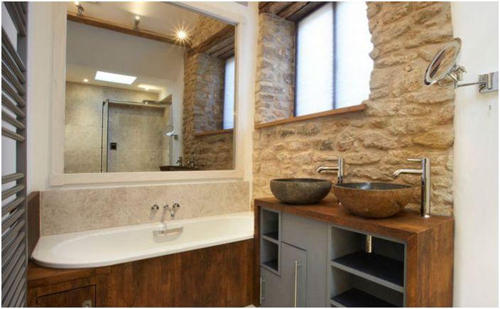 Интерьер ванной от hartdesignandconstruction