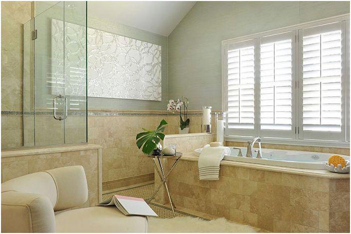 Интериор на баня от Frances Herrera Интериорен дизайн