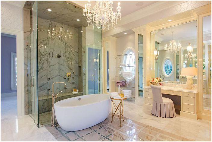 Wnętrze łazienki firmy Claremont