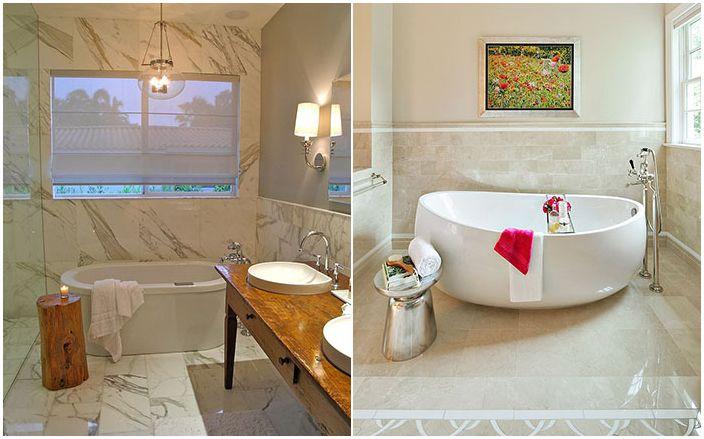 Странични маси в банята