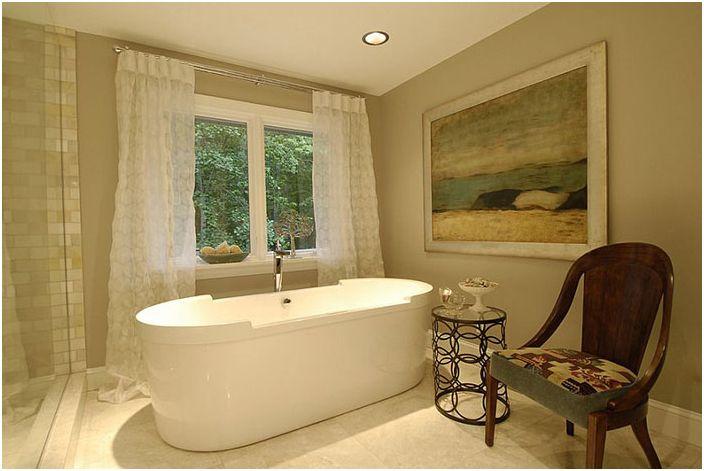 Wnętrze łazienki według Steiner Design Interiors