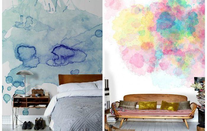Необичайна боядисване на стени