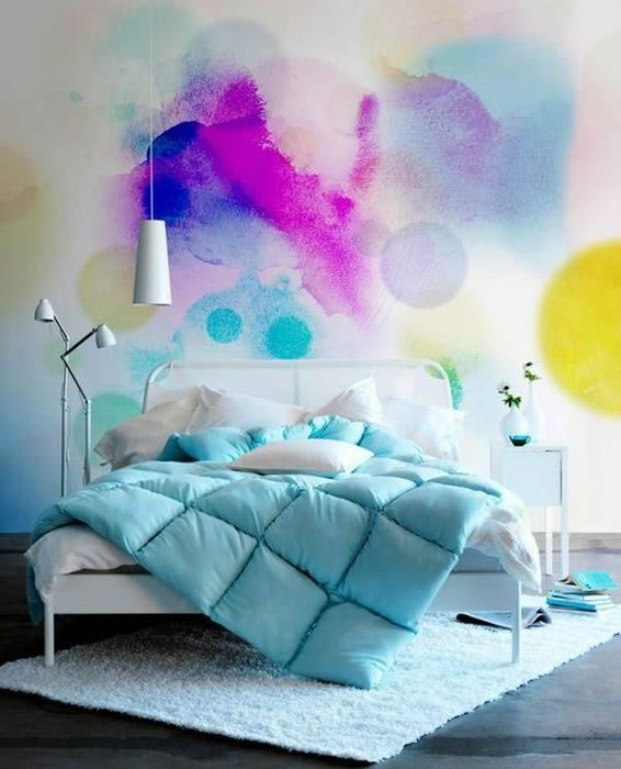 Способ №4. Стильный вариант покраски стен