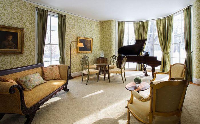 Интерьер гостиной от Leslie Brown Style & Design