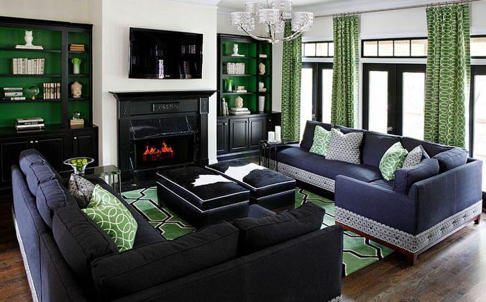 Интериор на хола от колекция Kristin Drohan